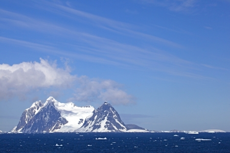 Views from the Lemaire Channel, Antarctica photo