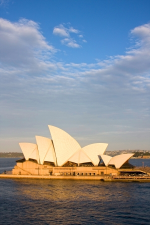 sydney harbour: Sydney Opera House in the afternoon sun, New South Wales, Australia