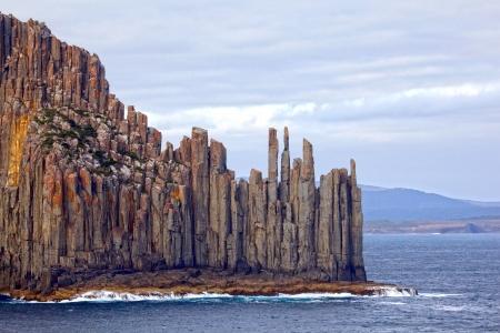 극적인 해안선 태즈 메이 니아, 호주