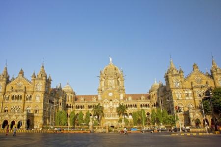 The Chhatrapati Shivaji Terminus which was formally know as Victoria Terminus, Mumbai, India