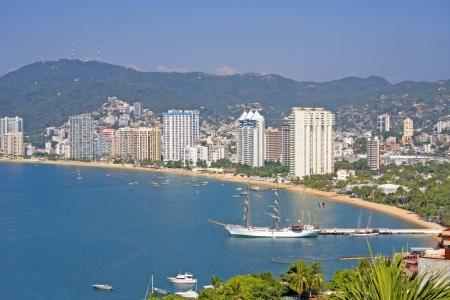 Acapulco beachfront, Mexico