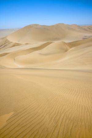 Rolling sand dunes of the Namib desert, Namibia