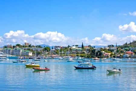 new caledonia: Noumea harbour, New Caledonia  Editorial