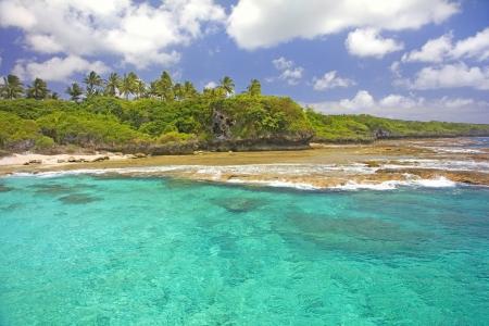 Coastline of Alofi, Niue