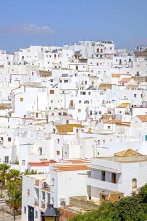 blanco: The Pueblo Blanco or white village of Vejer de la Frontera, Spain