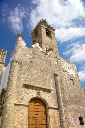 14th century: 14th Century Church of Divino Salvador, Spain  Stock Photo