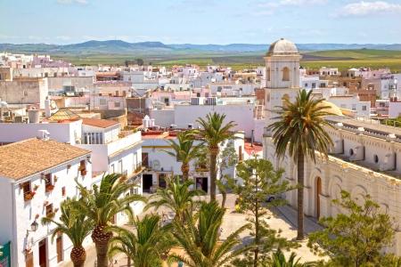 spanish village: View of Conil de la Frontera, Spain
