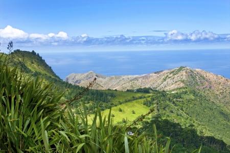 Landscape of St Helena Island