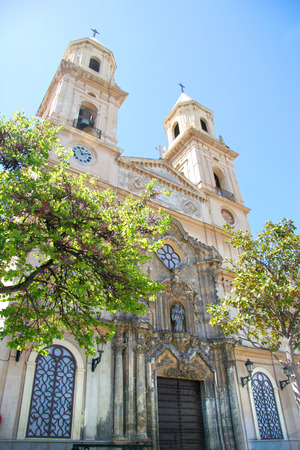 San Antonio church, situated in Plaza San Antonio, which is considered to be Cádiz photo