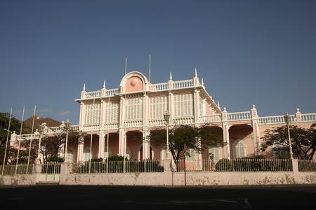 Palácio do Povo (Peoples Palace), or Palácio do Mindelo, (formerly the Palácio do Governador Governors Palace), Mindelo, Cape Verde.