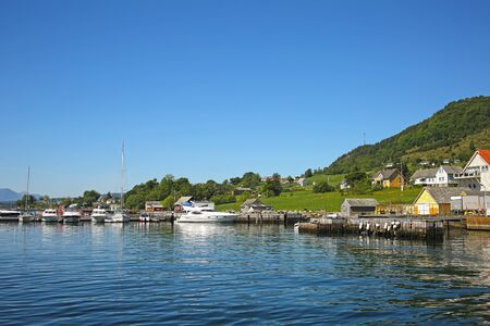 Village of Rosendal, which is located on the Hardangerfjord, the second largest fjord in Norway. Rosendal is the administrative centre of Kvinnherad municipality, and it is especially known for the Barony Rosendal.