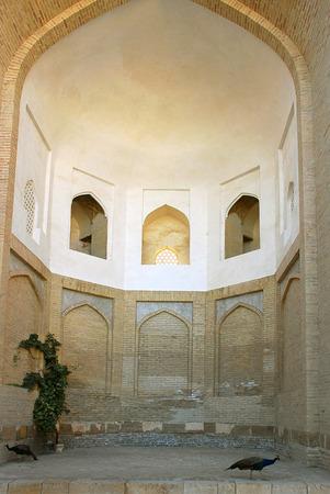 uzbekistan: Fragment Necropolis - Chor-Bakr. Uzbekistan Stock Photo