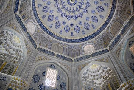 aqa: Mausoleum of Shirin Aqa Beck (Beck Aka Shirin, Shirin-Bek-aka) Stock Photo