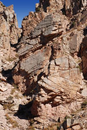 Orange Cliffs of Western Tien Shan