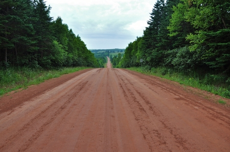 camino de tierra: Red Dirt Road