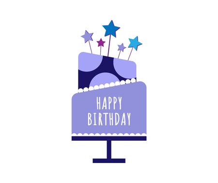 wedding cake isolated: Cakes set. Vector cake icon design element. Birthday cake isolated illustration. balloon fireworks, wedding cake on white background