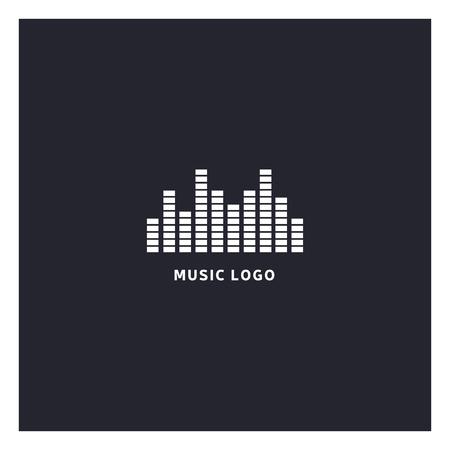 Music equalizer . Ilustracja