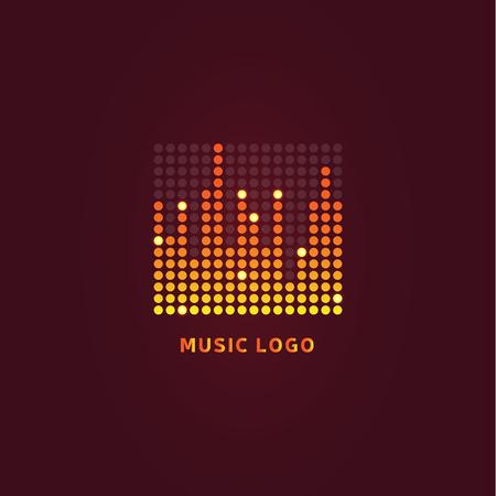 sonic: Colorful ui ux music equalizer sound waves. Audio electronic bar. Music waves logo. Dj vector illustration. Bright shiny light audio signal. Stock Photo