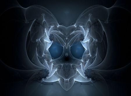 daemon: Rendered Fractal image looks like dragon head