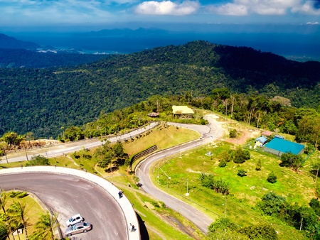 View from the top of Gunung Raya mountain at Langkawi island in Malaysia Stock Photo - 13010973