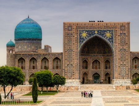 samarkand: Registan square at Samarkand, Uzbekistan
