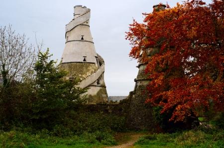 Grange merveilleux - tour ronde en Irlande
