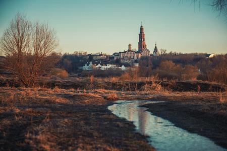 theologian: St. John the Theologian monastery near Ruazan, Russia Stock Photo