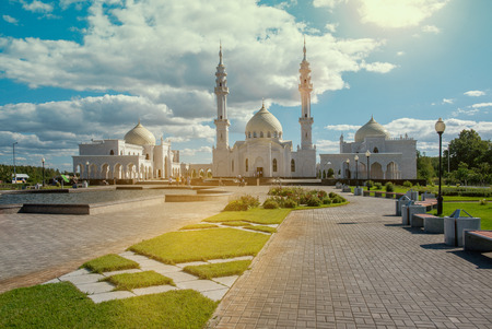 spassky: Mosque in provincial Russian town Bolgar. Tatarstan republic.