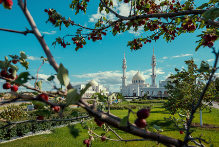 Mosque in provincial Russian town Bolgar. Tatarstan republic.