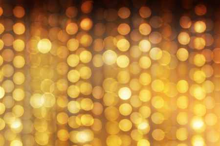Gold bokeh background Stock Photo