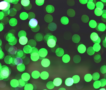 semitransparent: Abstract bokeh circle lights