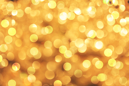 semitransparent: Bokeh on yellow background