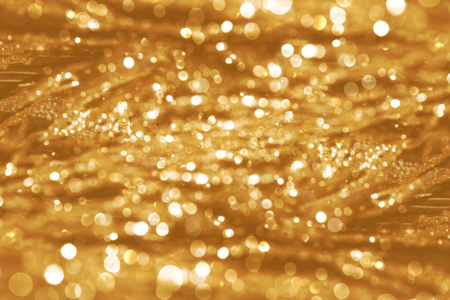 semitransparent: Gold bokeh background Stock Photo