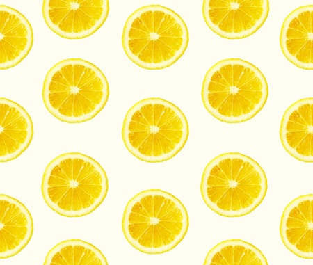 Lemons cuted seamless background