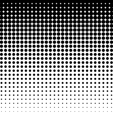 Halftone pattern. Gradient halftone dots background. Vector illustration.