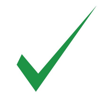 Check mark icon. Vector illustration.