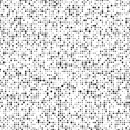 Halftone pattern. Gradient halftone dots background. Vector illustration. Vector Illustration