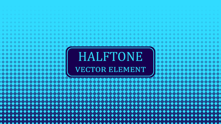 Circle halftone. Abstract halftone background. Vector illustration. Black circles