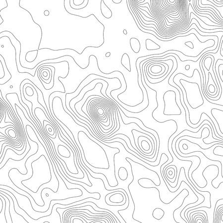 Topography map background. Grid map. Vector illustration Ilustração