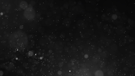 Dust particles. Abstract background of particles. Cosmic galaxy illustration.