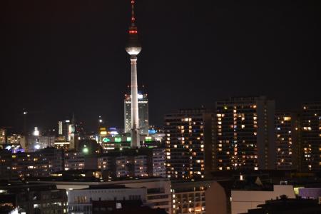 multi storey: night berlin