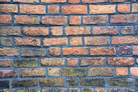 Antique brick wall for background