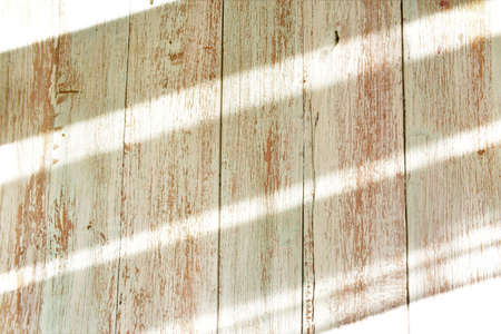 sun rays on wooden old table