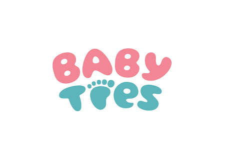 toddlers: babys or toddlers foot mark toe graphic. This illustration can represent play school, nursery or pre-school of kids & toddlers or baby care centers, etc