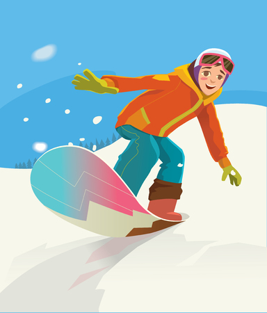 snowboarder: Snowboarder jumping through air with deep blue sky in background