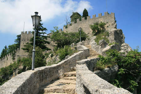 enclave: San-Marino Stock Photo