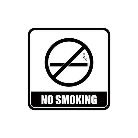 No smoking icon on public area vector graphics Vektorgrafik