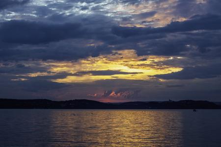 balaton: view of the lake Balaton in Hungary