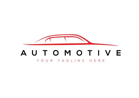 Car outline automotive sign for your projects