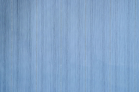lurex: Blue stripy fabric background close up with texture